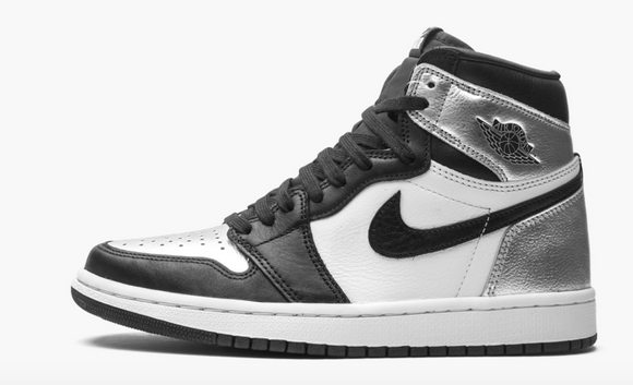 "Air Jordan 1 Retro High OG ""Silver Toe"" women"