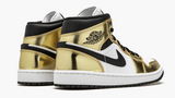 "Air Jordan 1 Mid SE  ""Metallic Gold"" Mens - airdrizzykicks.com"