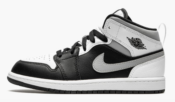"Air Jordan 1 Mid ""White Shadow"" Toddler TD & Preschool PS - airdrizzykicks.com"