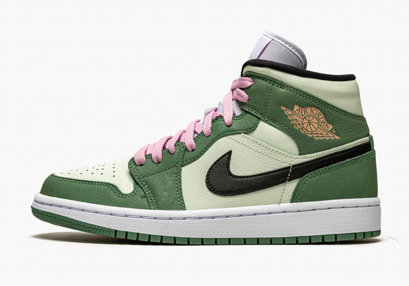 "Air Jordan 1 Mid SE ""Dutch Green"" - airdrizzykicks.com"