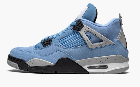 "Air Jordan 4 Retro  ""University Blue"" Mens - airdrizzykicks.com"