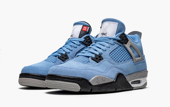 "Air Jordan 4 Retro GS  ""University Blue"" GS Gradeschool - airdrizzykicks.com"