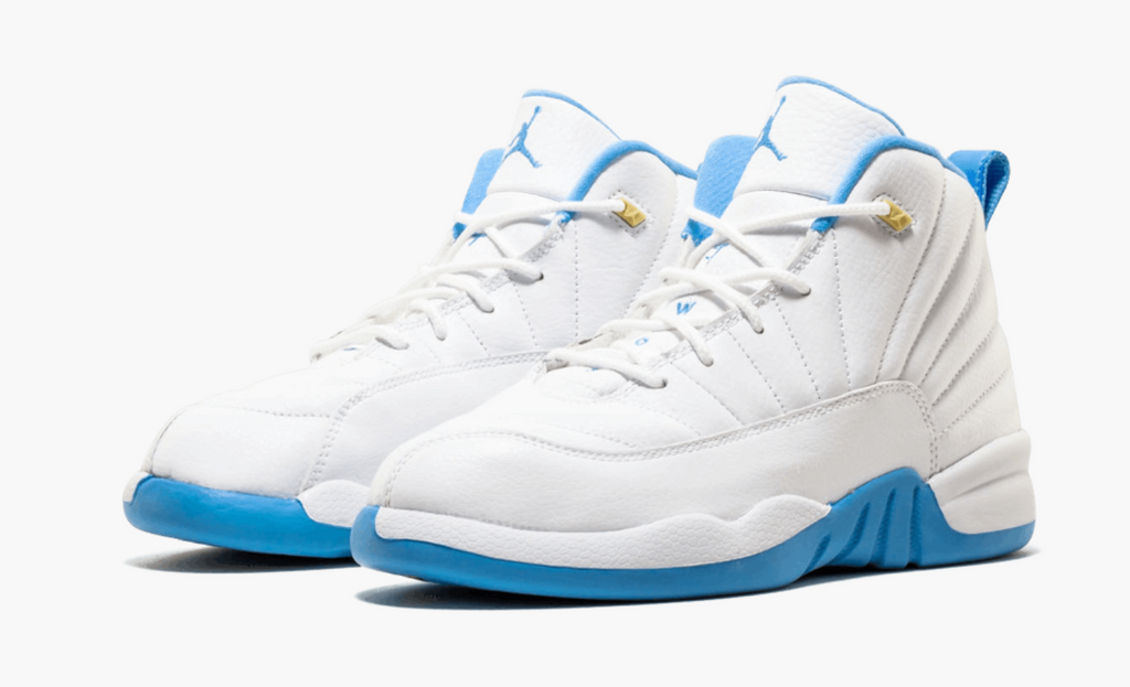 the best attitude 82f97 b125a Air Jordan Retro 12 XII 'Melo University Blue' PS Preschool