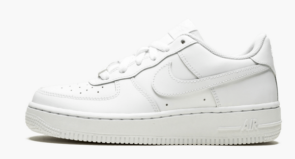 Nike Air Force 1 Low White -Grade School / Women - airdrizzykicks.com
