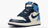 "Air Jordan 1 Retro High OG  ""Obsidian/University Blue""  Grade School GS - airdrizzykicks.com"