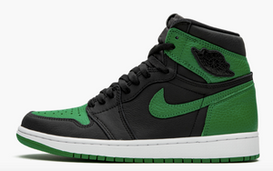 "Jordan Air Jordan 1 Retro High  ""Pine Green Black"" Mens - airdrizzykicks.com"