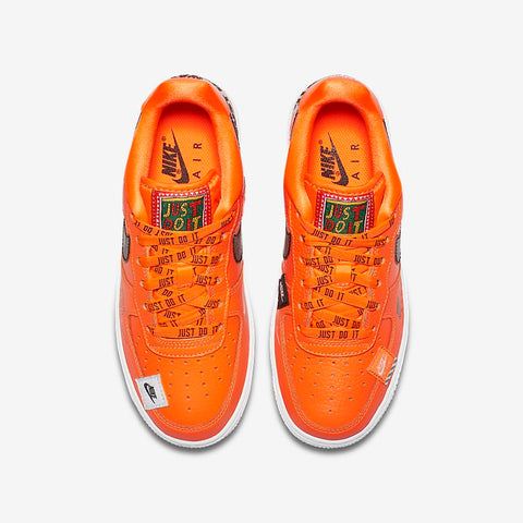 cbedf7f046cc Nike Air Force 1 Low  Just Do it pack  Mens AR7719-800 total orange ...