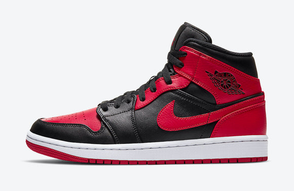 "Air Jordan 1 Mid  ""Banned 2020"" - airdrizzykicks.com"