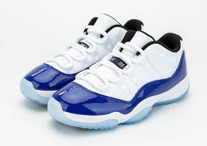 "Air Jordan 11 Low WMNS ""Concord"" - airdrizzykicks.com"