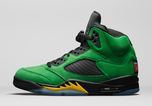 "Air Jordan 5 Retro SE  ""Oregon"" Mens - airdrizzykicks.com"