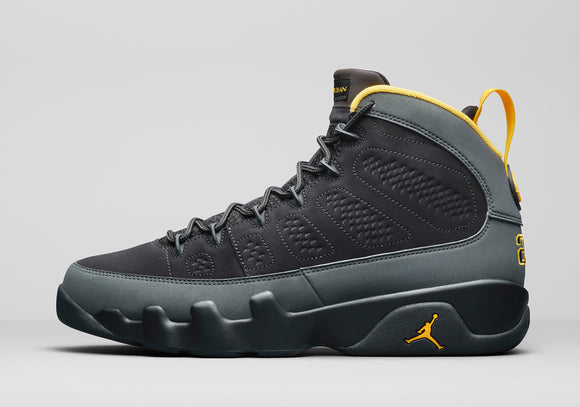 "Air Jordan 9 ""Dark Charcoal"" Mens - airdrizzykicks.com"