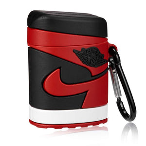 Air Pod Case- Jordan Retro 1 Bred - airdrizzykicks.com