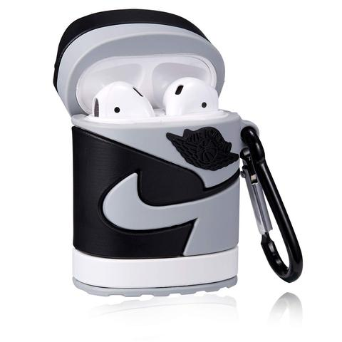 Air Pod Case- Jordan Retro 1 Shadow - airdrizzykicks.com