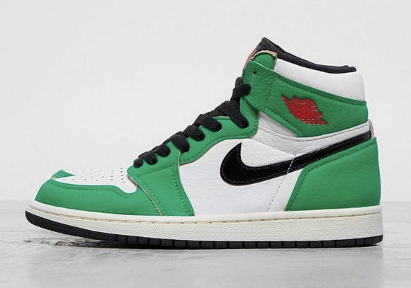 "Air Jordan 1 Retro High OG WMNS  ""Lucky Green"" - airdrizzykicks.com"