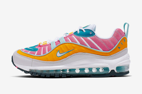 Nike Air Max 98 'Spring' Womens - airdrizzykicks.com