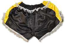 Ring to Cage Retro Muay Thai Short - Black/Gold/Silver