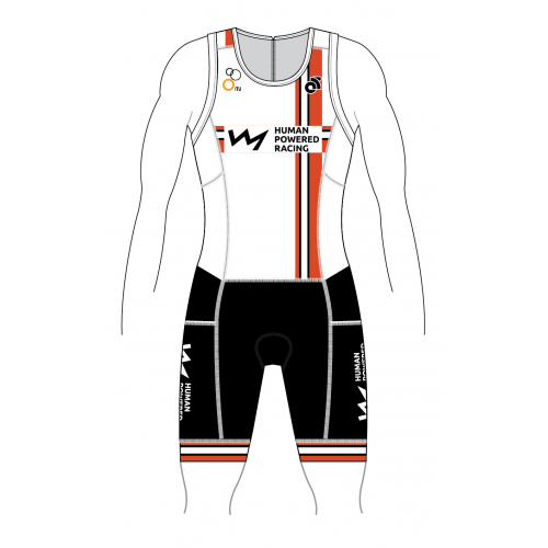 HPR Performance Tri Suit White 2019