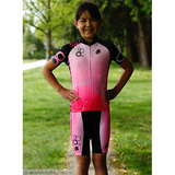 Be Seen Kids Tri Shorts Pink
