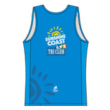 Sunshine Coast Performance Run Singlet (Blue)