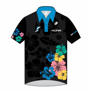 Big Island Triathlon Adventures Tech Polo