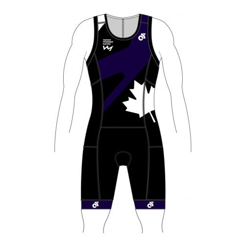 HPR Purple Performance Tri Suit