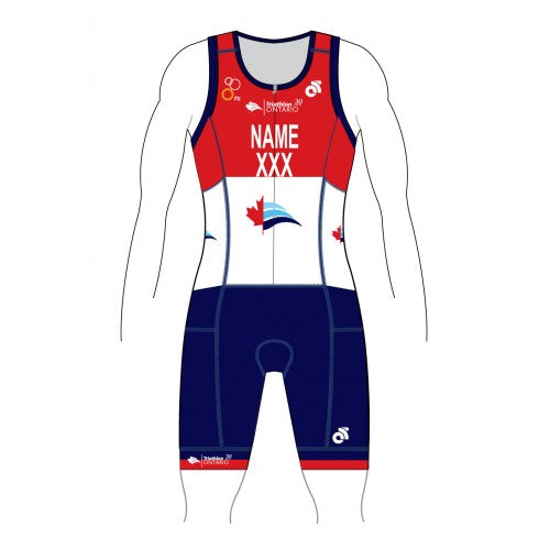 Triathlon Ontario Performance Tri Suit (CUSTOM) 30 Years