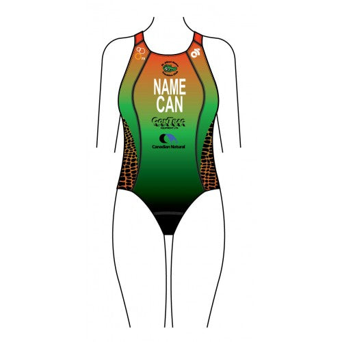 Gators Women's Apex Swimsuit