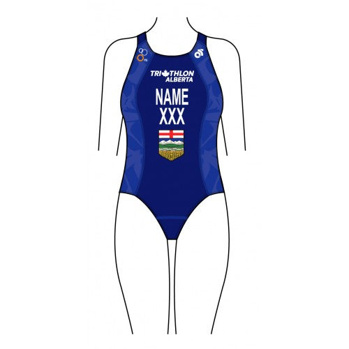 Triathlon Alberta Provincial Women's Performance Swim Suit