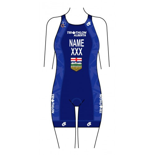 Triathlon Alberta Provincial Women's Specific APEX Tri Suit