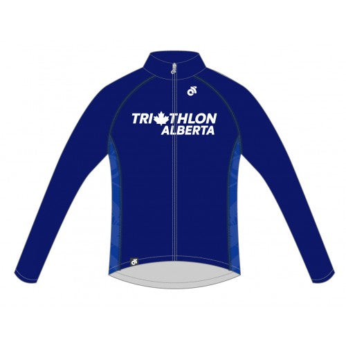 Triathlon Alberta Tech Pro Long Sleeve Jersey Provincial