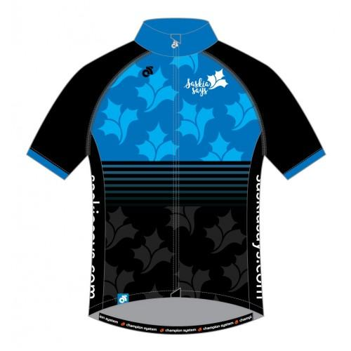 Saskia Says Performance Pro Jersey Blue