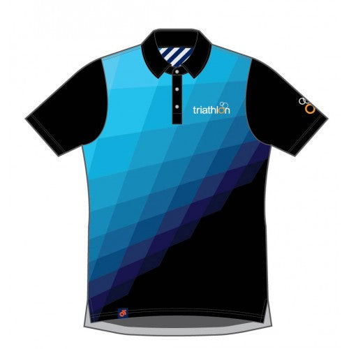 ITU Tech Polo Blue