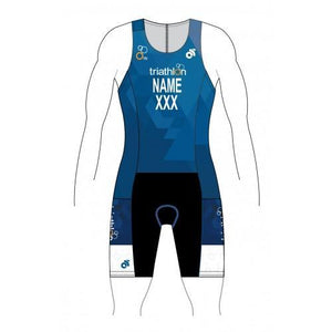 ITU Blue Tech Tri Suit