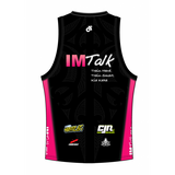 Camp IMTALK Pink Performance Link Tri Top