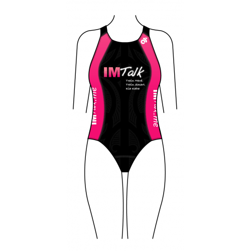 IMTalk Pink Women's Apex Swimsuit