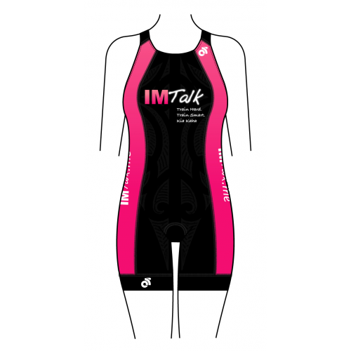 IMTalk Pink Apex Women's Tri Suit