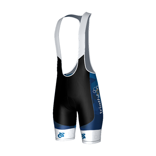 ITU Blue Tech Bib Shorts