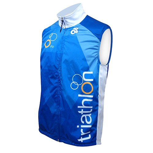 ITU Blue Performance Wind Vest