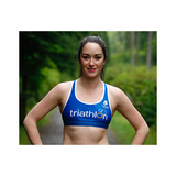 ITU Blue Women's Sports Bra