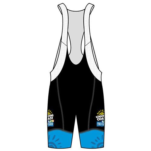 Sunshine Coast Performance Bib Shorts (Blue)