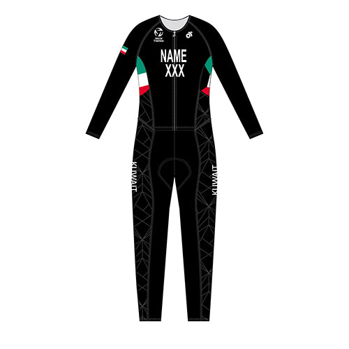 Kuwait Womens Full Body World Tri Suit
