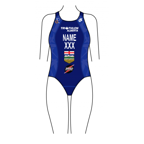 Speed Revolution Women's Performance Swim Tri Suit