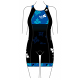 Saskia Says Women's Specific Apex Tri Suit Blue