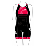 Saskia Says Women's Specific Apex Tri Suit Pink