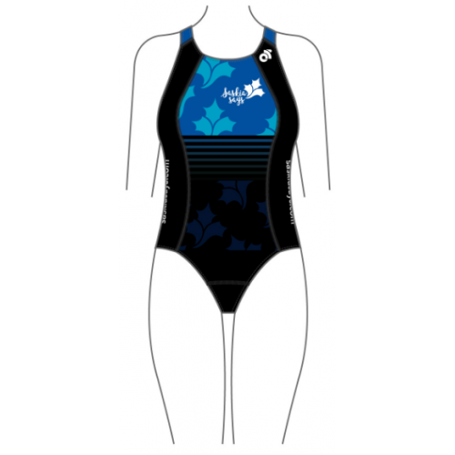 Saskia Says Performance Swimsuit Blue