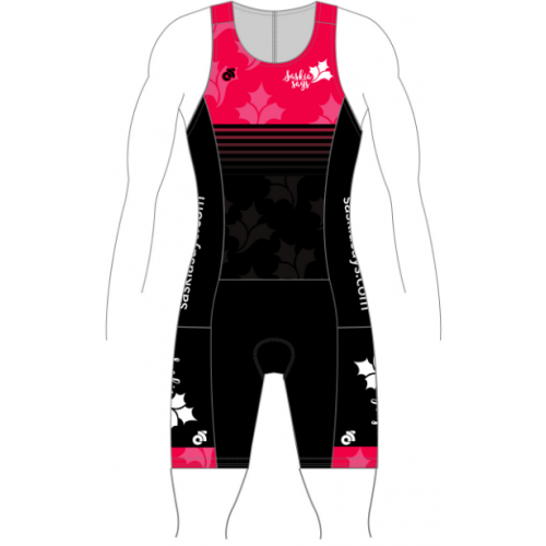 Saskia Says Tech Tri Suit Pink