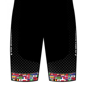 2019 World Multisport Flag Cycling Shorts