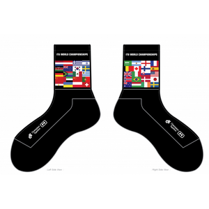 2019 World Championship Flags Socks (3 pair)