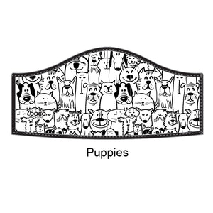 Non-Medical Face Mask - Puppies