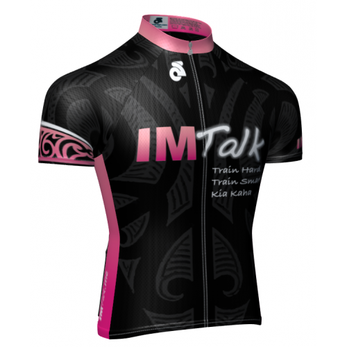 IMTalk Pink Tech+ Short Sleeved Jersey